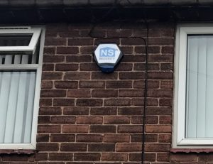 NS Security Intruder Alarms Texecom Bellbox Fitted